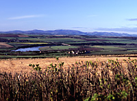 'Cheviots from Halidon Hill,                 Berwick-upon-Tweed'