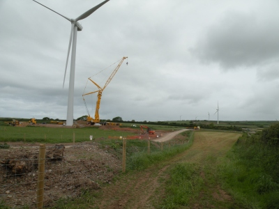 Turbine Number 6 and others behind